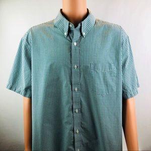 CROFT & BARROW Shirt Easy Care Fabric Size 3XB
